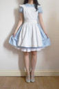 Alice dress with apron and petticoat