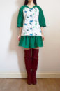 Christmas top and skirt set
