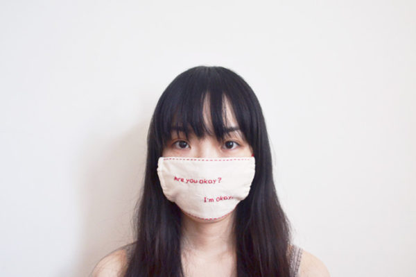 stitched flu mask